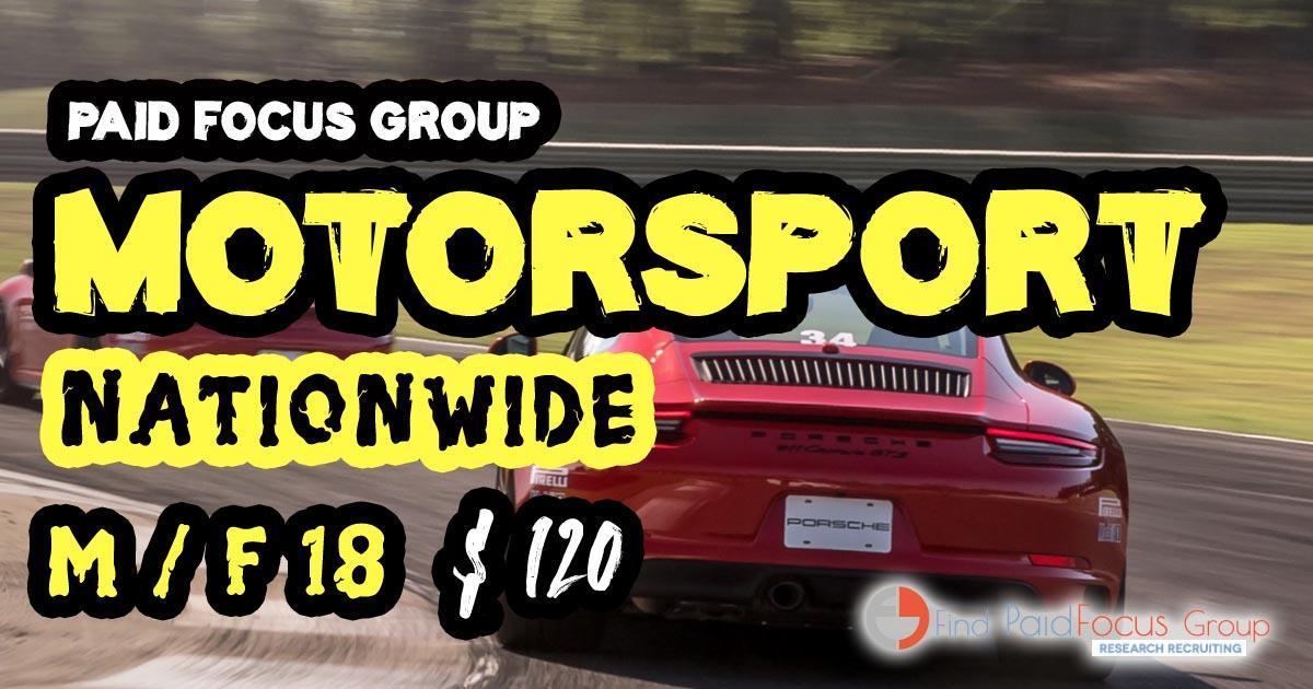 focus group on Motorsport