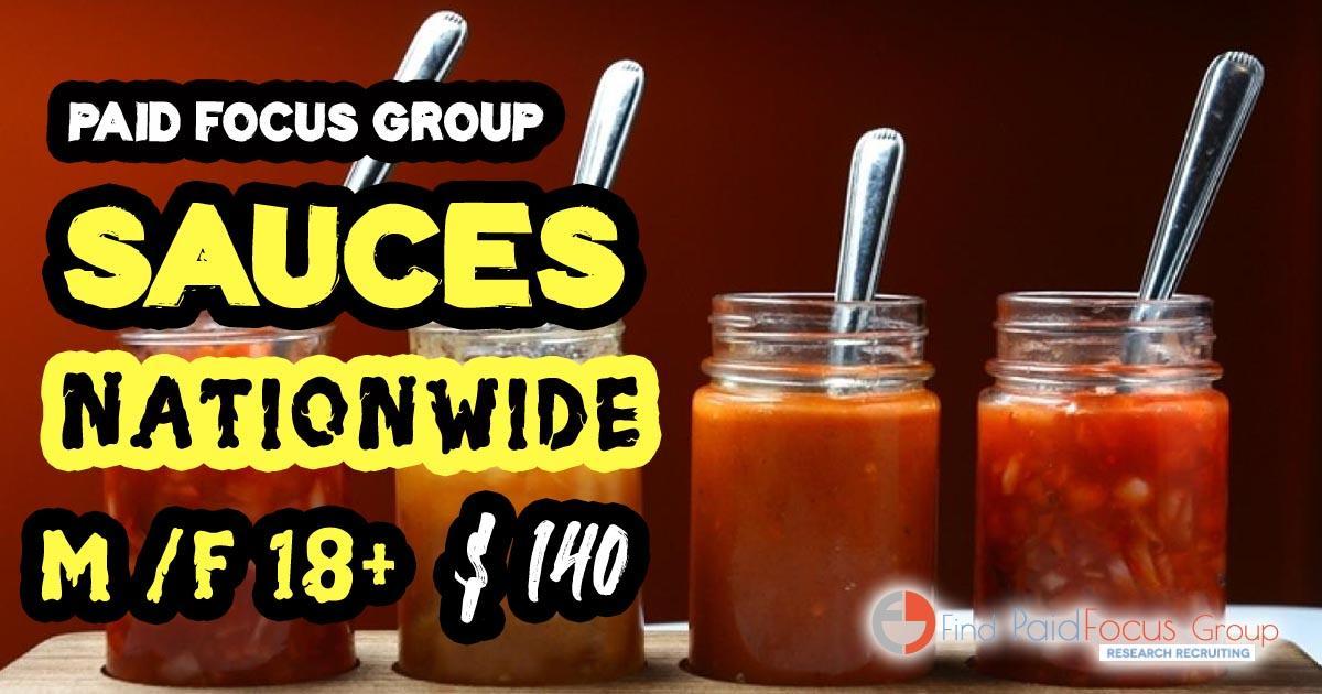 focus group Sauces