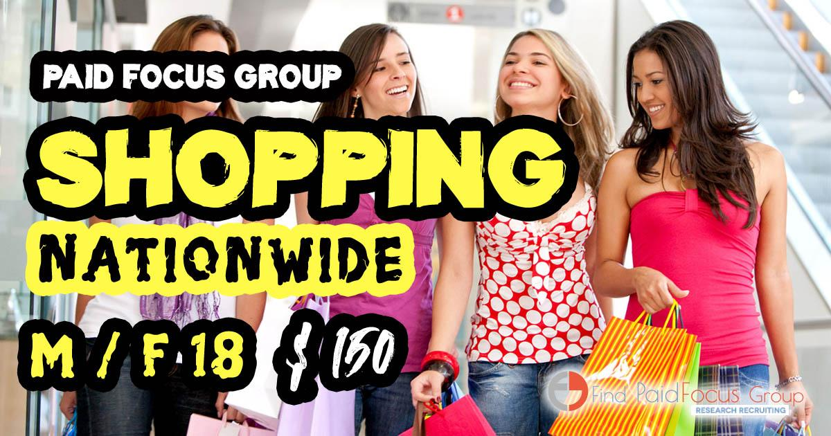 focus group on shopping habits
