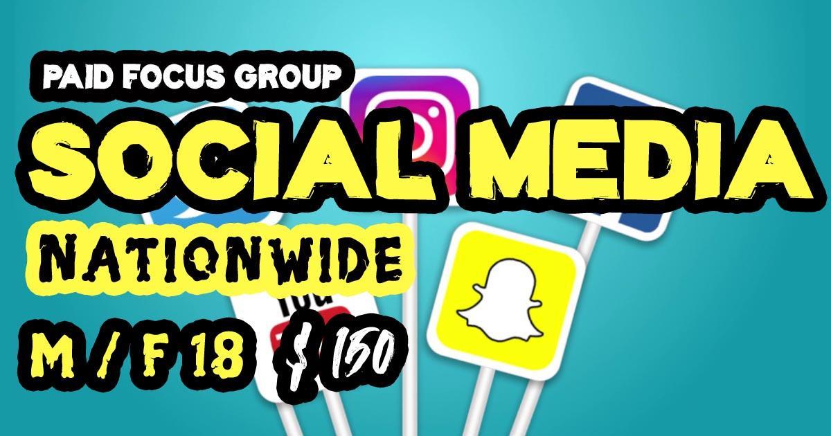 focus group on social media