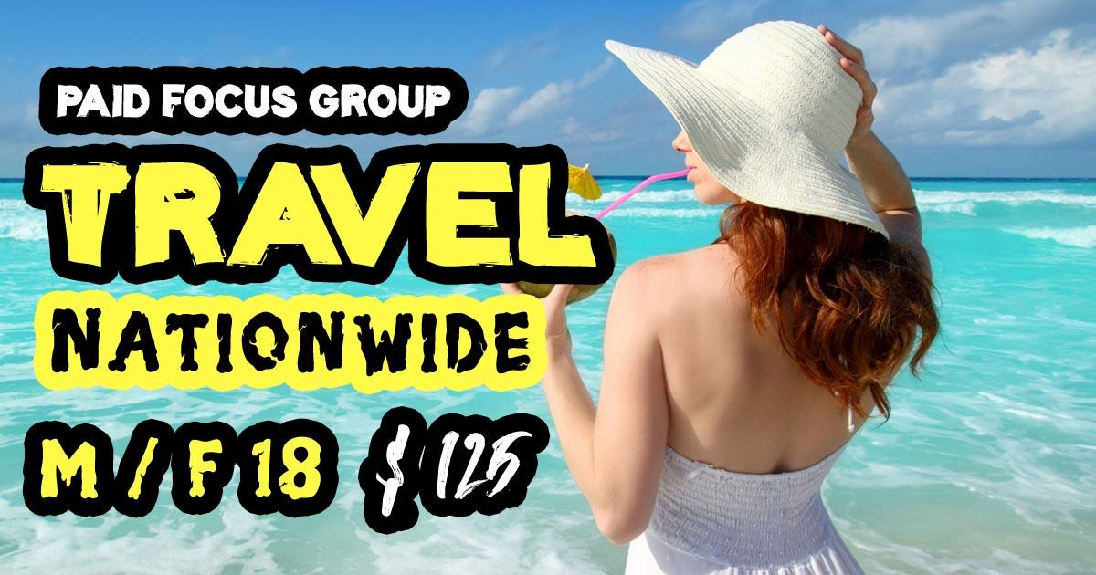 focus group on Travel