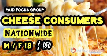 focus group on Cheese Consumers