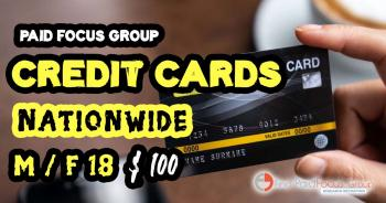 Focus Group Credit Cards
