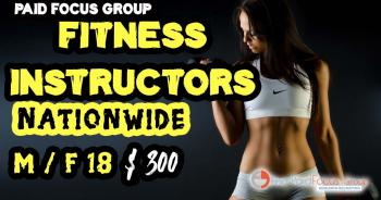 Fitness Instructors focus group