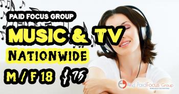 focus group music and tv
