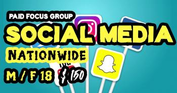 focus group on social media