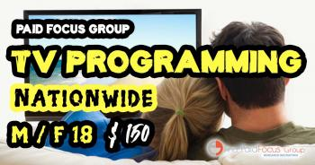 focus group on Television Programming
