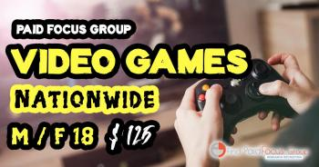 focus group on Video Games