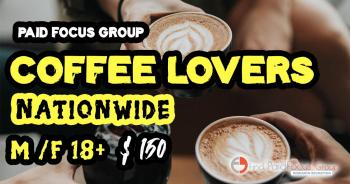 focus group coffee lovers
