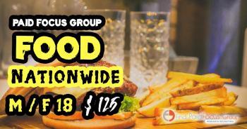 focus group on food